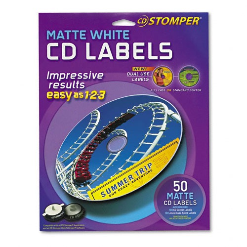 Avery Labels for CD Stomper Pro CD/DVD Labeling System ...