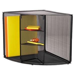 Rolodex Mesh Corner Desktop Shelf Rol62630 Shoplet Com