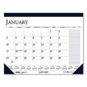 2021-2022 22 x 17 House of Doolittle Express Track Monthly Desk Pad Calendar