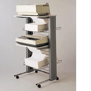 Great Fellowes Dual Station Printer Stand For 2 Machines