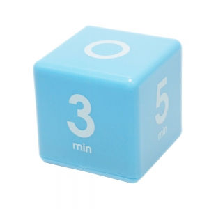 Datexx Cube Timer 1, 3, 5, 7 minute preset timer, Blue, Smart pre-set cube  timer