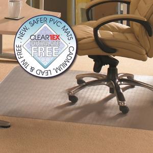 Cleartex Phthalate Free PVC Rectangular Chairmat