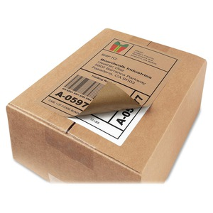 avery shipping label permanent adhesive 5 50 quot width x