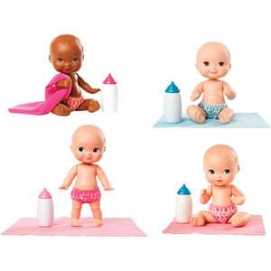 Little Mommy Mini Baby Doll Pink