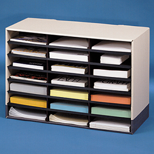 bankers box literature mail sorter