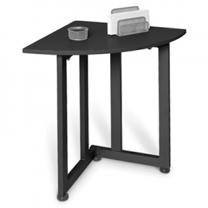 Superieur Best Graphite Quarter Round Table Small Corner Table