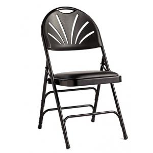 Samsonite 3000 Series Commercial Grade Padded Fanback Folding Chair