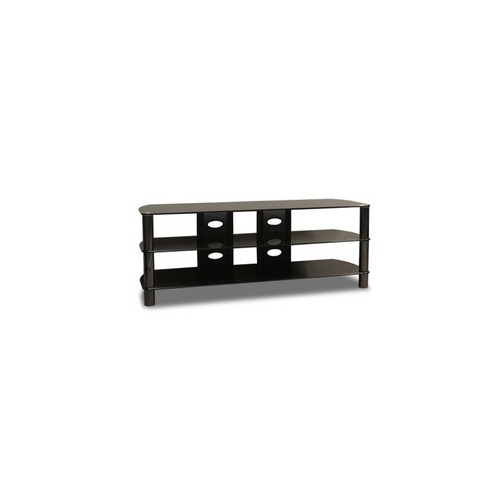 Techcraft Bel57b Tv Stand Glass Metal Gray 2y96921 Shoplet Com