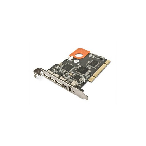 LaCie FireWire 400 & 800/USB 2.0 PCI Card 1 x IEEE 1394a FireWire ...