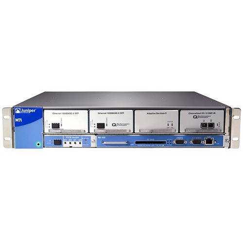 Juniper M7i Multiservice Edge Router, - Ports7 Slots - Rack