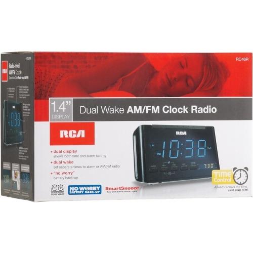 rca rc46 desktop clock radio 2y94589 shoplet com rh shoplet com
