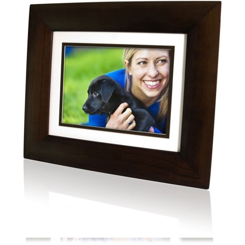 Hp Df840p1 Digital Photo Frame 8quot Lcd Digital Frame Wood