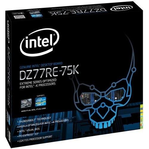 Intel Extreme DZ77RE, ATX - 1 x Processor Support - 32 GB