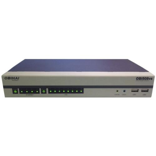 Obihai OBi508 VoIP Gateway, 4 x RJ-45 - 8 x FXS - Gigabit Ethernet
