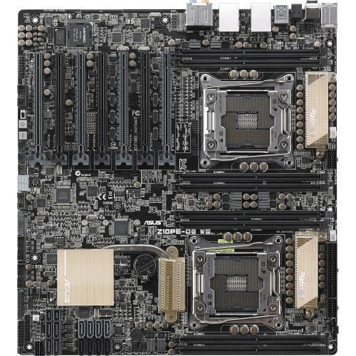 Asus Z10PE-D8 WS Workstation Motherboard - Intel C612 Chipset - Socket R3  (LGA2011-3), SSI EEB - 1 x Processor Support - 512 GB DDR4 SDRAM Maximum  RAM
