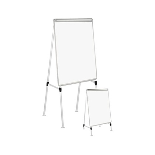 Universal Dry Erase Easel Board Easel Height 42 To 67 Board 29 X 41 White Silver