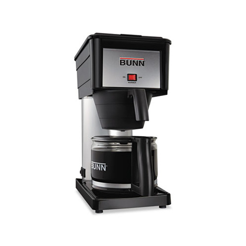 Bunn Coffee 10 Black Stainless Steel Cup Velocity Brew Bx Coffee