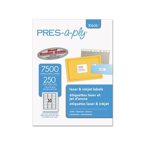 avery laser address labels ave30606 shoplet com