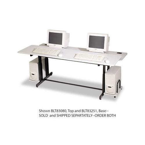 Balt Split Level Computer Training Table Base Blt83251