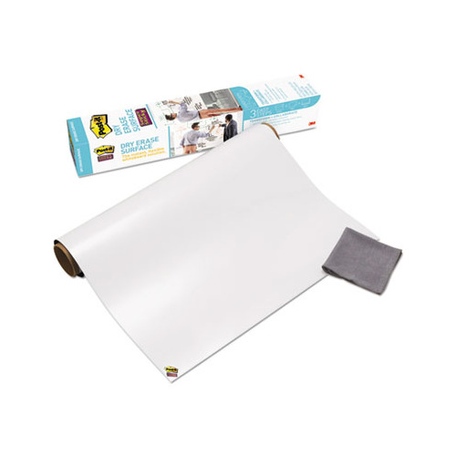 Post-it Dry Erase Surface with Adhesive Backing