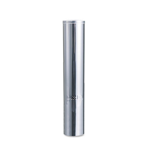 Dixie Cup Dispenser, Stainless Steel, for 5oz Cups, 19 h x 3