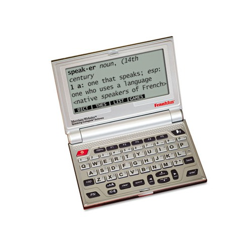 Franklin Merriam-Webster's Collegiate Electronic Speaking Dictionary