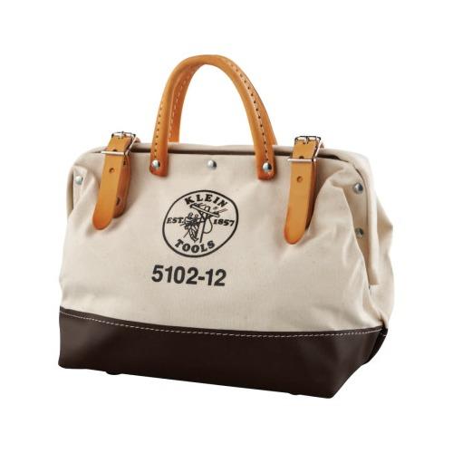 8799c4c7eb86 Klein Tools Canvas Tool Bag - 5102-12, Klein Tools Canvas Tool Bag