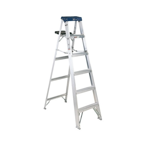 Tremendous Louisville Ladder As3000 Series Sentry Aluminum Step Ladders As3005 Pabps2019 Chair Design Images Pabps2019Com