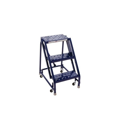 Louisville Ladder GSW Series Steel Rolling Warehouse Ladder W Handrails    GSW1603 W03