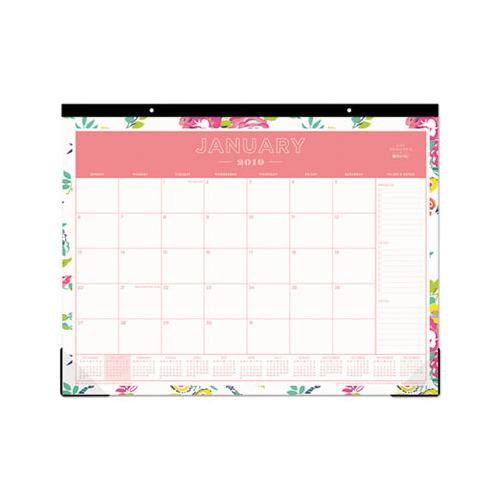 Blue Sky Day Designer Desk Pad Calendar 22 X 17 2019 Bls103631