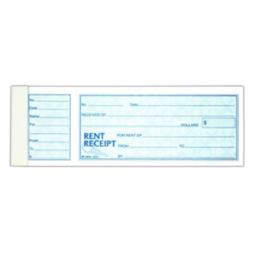 Receipt book rent
