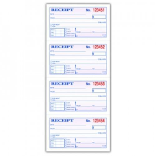 adams money rent receipt book abfdc1152 shoplet com