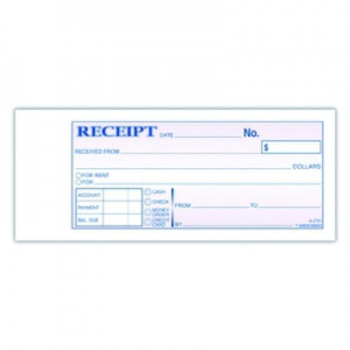 adams money rent receipt book multiple parts abfdc2701 shoplet com