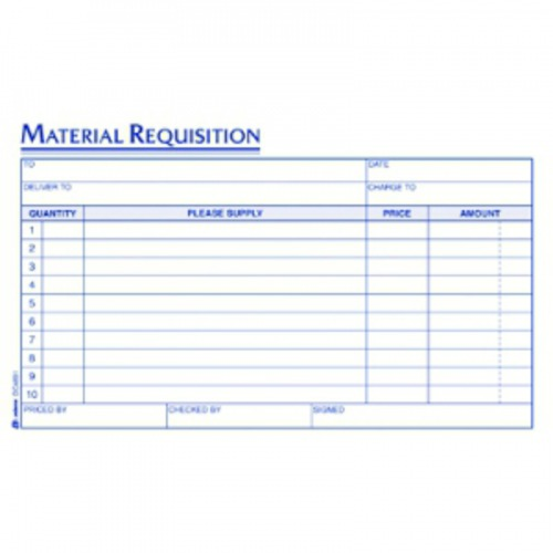Adams Material Requisition - ABFDC489110 - Shoplet.com