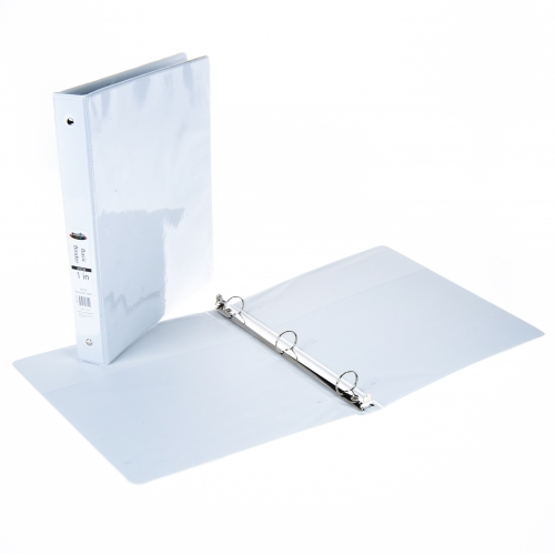 creative colors 1 inch white view 3 ring binder 1 inch 3 ring view