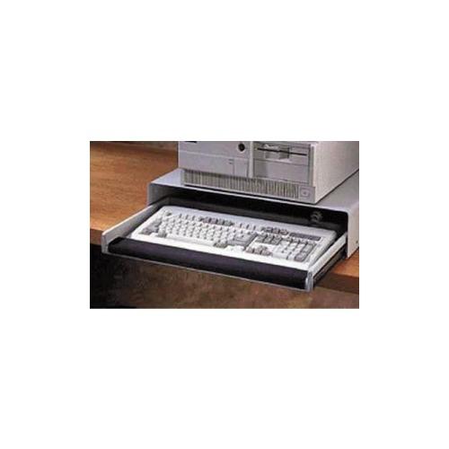 rubbermaid heavyduty desktop keyboard drawer with wrist rest u0026amp amp storage - Keyboard Drawer