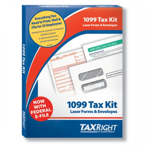 ComplyRight TaxRight: 1099 Misc  4, 4 Part - 25 Pack - Part