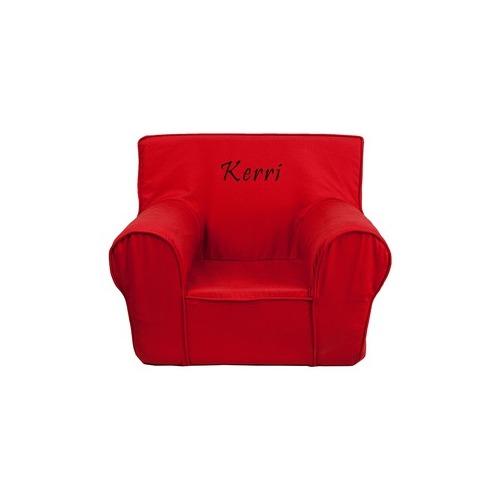 Gentil Flash Furniture EMB Red Kids Chair