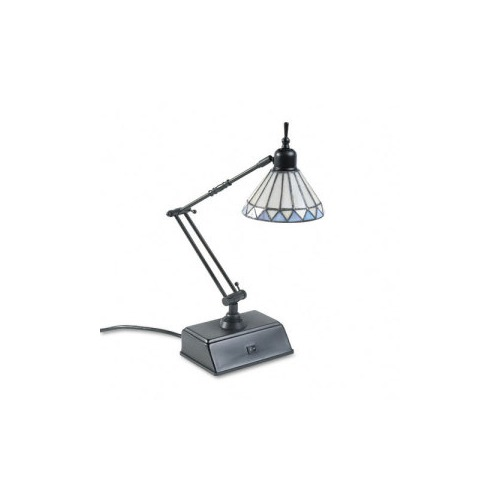 catalina adjustable desk lamp w base outlets data ports