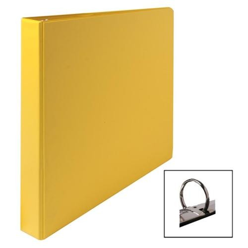 sparco 3 ring binder 1 capacity 11 x8 1  2 yellow Binder Rings Clip Art