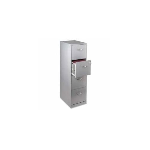 Hirsh Industries 3 Drawer File Cabinet, W Lock, 14 1 4u0026quot X18u0026quot