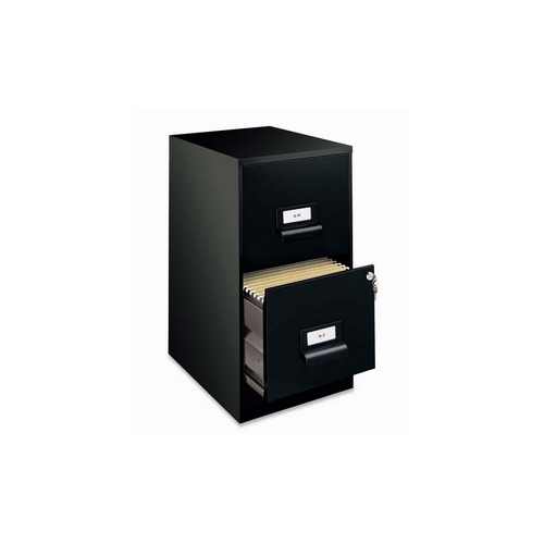 Beau Hirsh Industries 2 Drawer File Cabinet, W Lock, 14 1 4u0026quot X18u0026quot