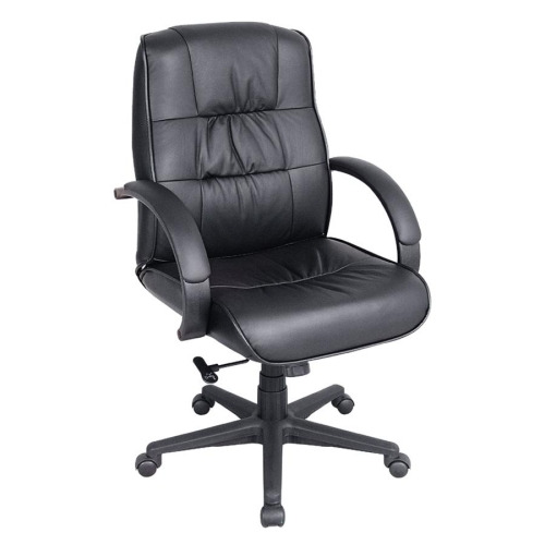 Swell Lorell Ultra Executive Leather Mid Back Chair Spiritservingveterans Wood Chair Design Ideas Spiritservingveteransorg