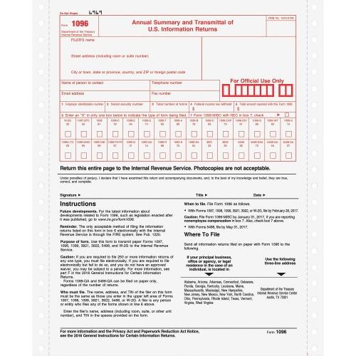 Tops 1096 Tax Form Top2202 Shoplet