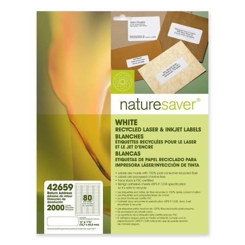 nature saver return address label nat42659 shoplet com