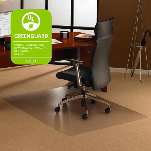 Cleartex Rectangular Chair Mat 35 Quot Length X 47 Quot Width X 0