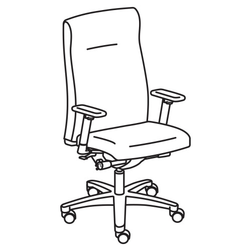 HON Ignition HIEH3 High Back Executive Chair