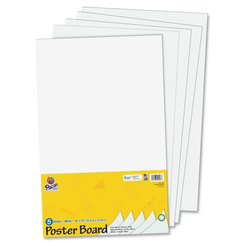 Pacon Half-Size Sheet Poster Board PAC5444