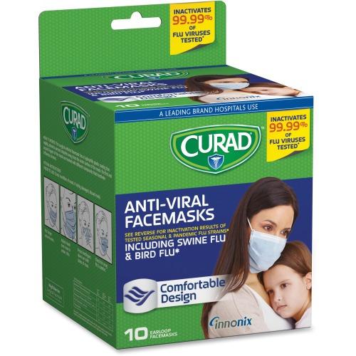 antiviral surgical mask