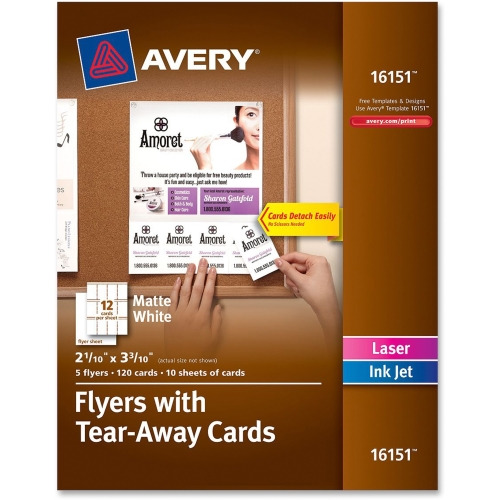 avery brochure flyer paper ave16151 shoplet com